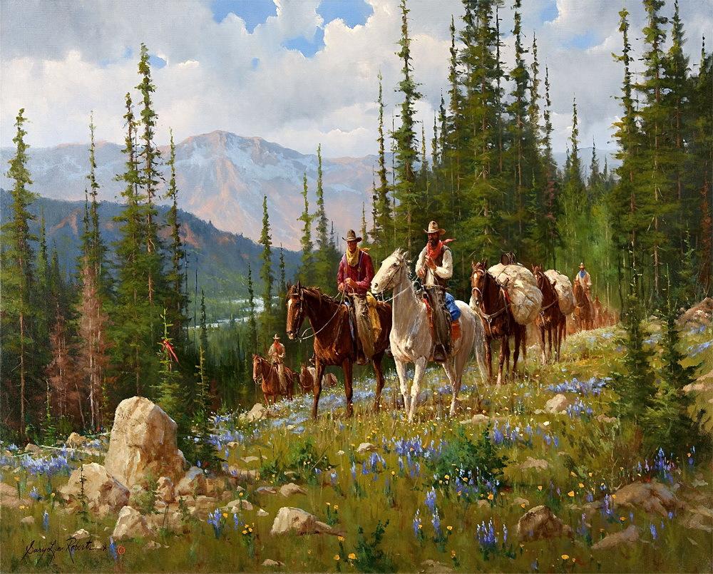 Famous cowboy art - photo#22