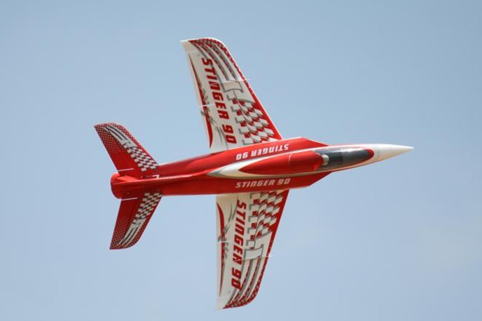 Freewing Stinger 90 90mm EDF RC jet airplane standard PNP format or PNP without ESC(China (Mainland))