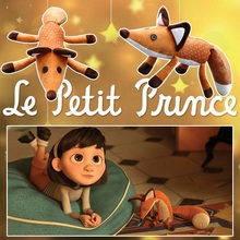 1pcs 45cm The Little Prince Plush Dolls The Little Prince And The Fox Stuffed Animals Plush Education Toys Gift For Kid BL1135-1