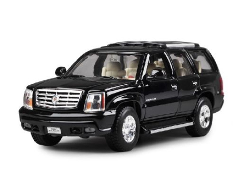 1:24 Welly Cadillac Escalade SUV Diecast Model Toy Car Vehicle Black New In Box(China (Mainland))