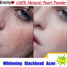 100% Natural Pearl Powder Freshly Ground Ultrafine Nanoscale Oral Topical Acne Whitening Mask Powder Blackheads Free Shipping(China (Mainland))