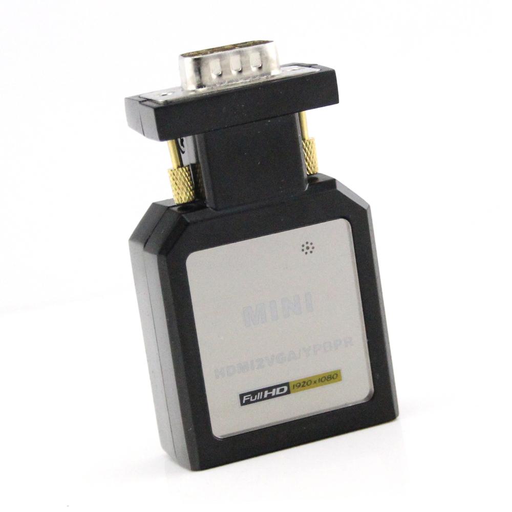 & HDV-M618 MINI HDMI VGA/Ypbpr converter audio retail package - WenJing Security electronics Co.,Ltd store