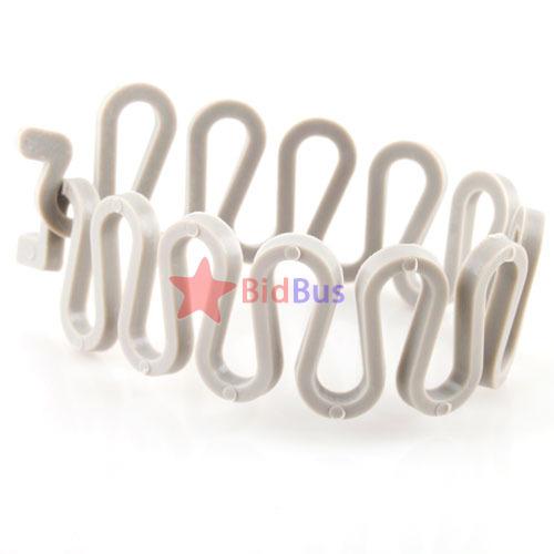 Bidbus Fast Magic Sports Hair Braider Twist Styling Braid Tool Holder Clip(China (Mainland))