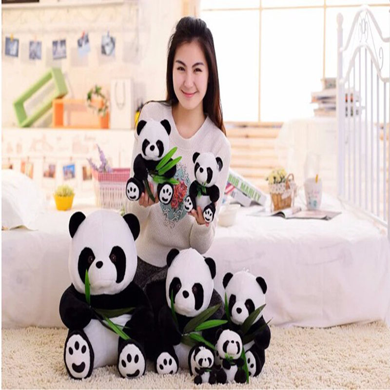 1pcs 12cm or 16cm mini Baby Toys Lovely Panda Plush Toy Lovely Doll Stuffed toy Perfect Gift For Children(China (Mainland))