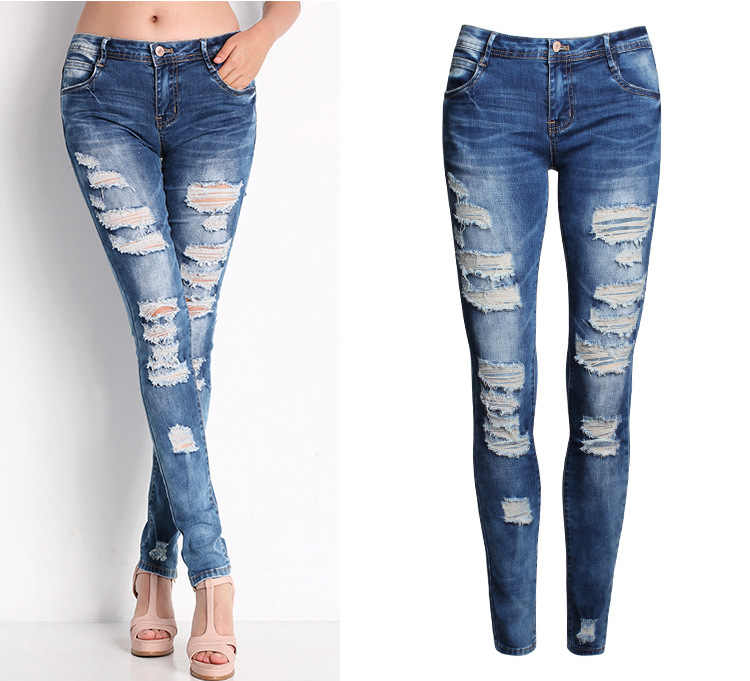 Ripped Skinny Jeans For Girls ripped ladies jeans reviews - online ...