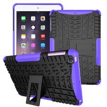 Tablet Hybrid Style TPU+PC Cases For Apple iPad Mini 1/2/3 iPad Mini 1 2 3 Mini1 Mini2 Mini3 covers shell bags with kickstand(China (Mainland))