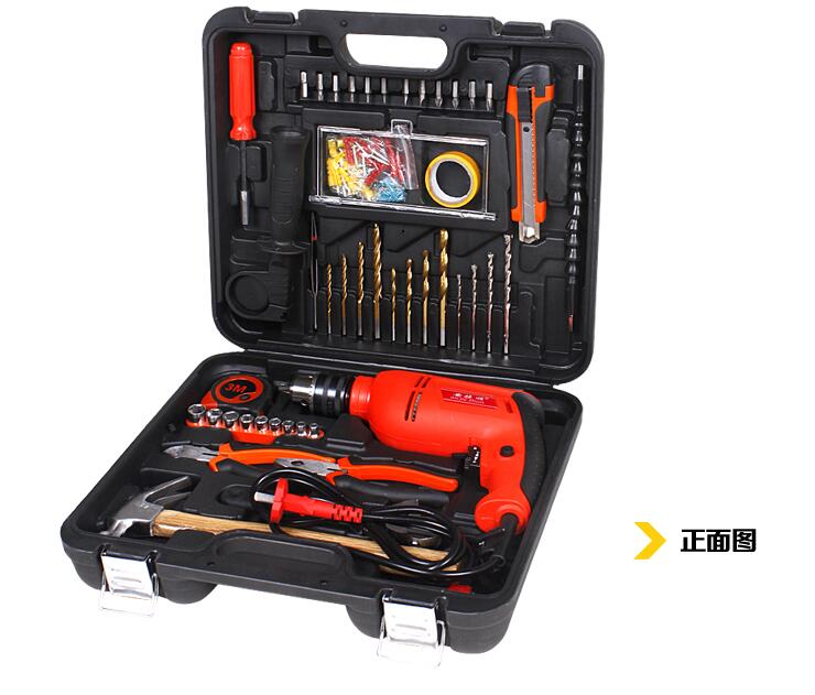 88 tools set Multifunction Household 950W electric drill Combination Electrical and carpentry repair Box<br><br>Aliexpress