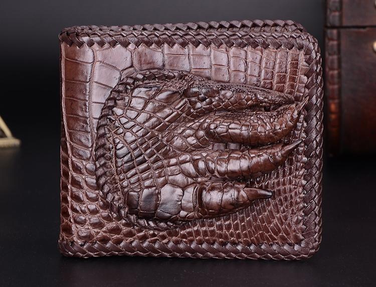 Portafoglio pelle di coccodrillo cinesi