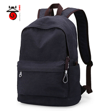 Buy Senkey style Vintage Fashion Rucksack Men Canvas Backpack Casual Travel Teenagers Men Laptop Backpack College Student School bag for $22.26 in AliExpress store