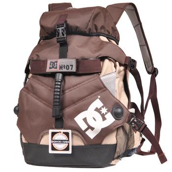 2013 pitfall male female backpack computer backpack school bag blue coffee