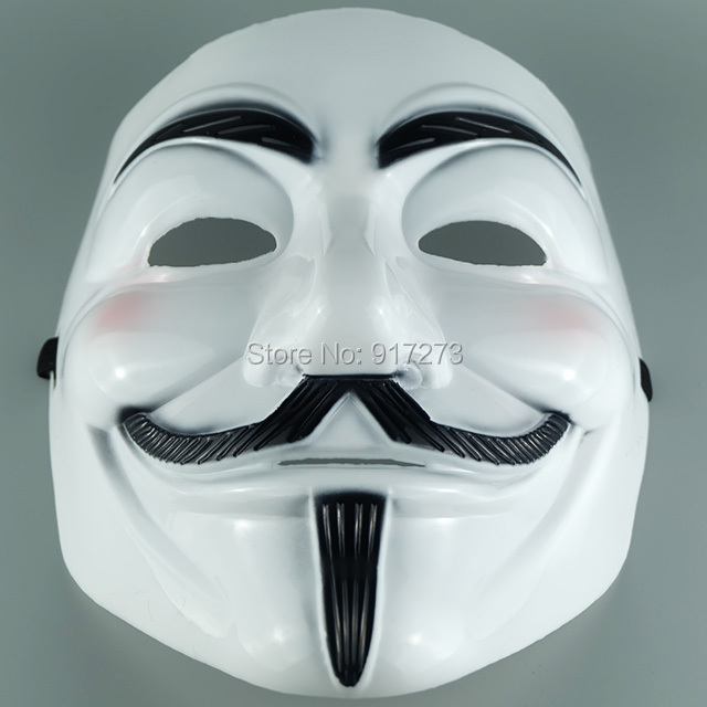 Classic Vendetta Party Prop Halloween Face Masks V Avenge Theme Film Masquerade - Hangzhou Ineyes Export Trade Co., Ltd store