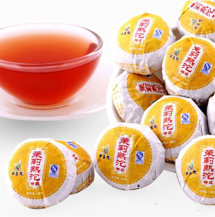 Гаджет  Green Jasmine Flavor Slimming Health Care Yunnan Menghai Mini Bowl Pu Er Organic Tea Women