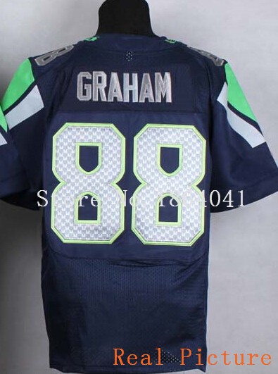 New Cheap #88 Jimmy Graham Jersey,Elite Football Jersey,Best quality,Authentic Jersey,Embroidery Logo,Size M--3XL