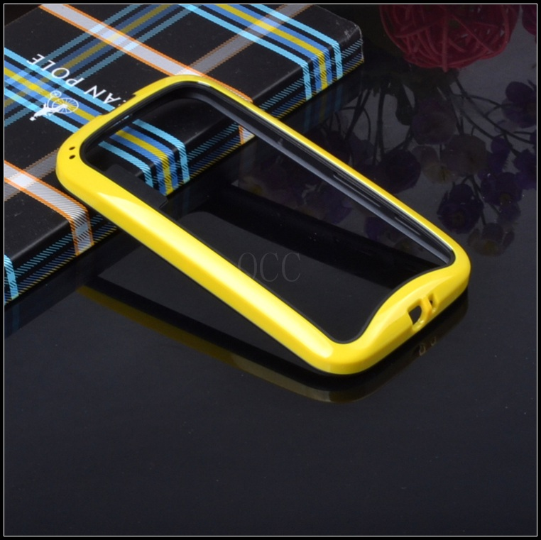 Best quality For Motorola Moto E XT1021,XT1022 hybrid soft silicone rubber protective frame tpu Bumper cell phone bag case cover(China (Mainland))