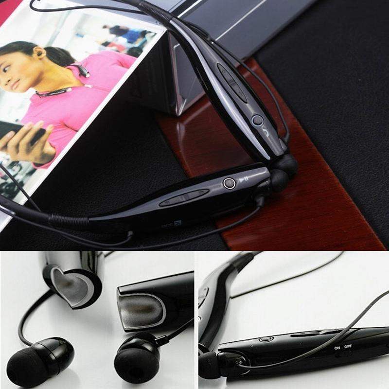 wireless earphones sports iphone 6 White Bluetooth V4.1 Wireless Stereo Music Sport Gym Handsfree Headset Headphone - Ibluetooth Electronics store