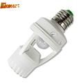 Holder High Sensitivity PIR Motion Sensor E27 LED lamp Base 110V 220V With Light Control Switch