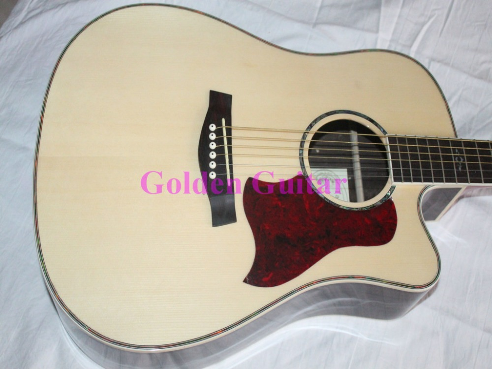Natural Guitar Acoustic Electric Guitar with EQ High Brand Musical instruments HOT(China (Mainland))