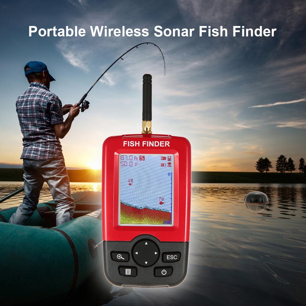 fish finder видео инструкция