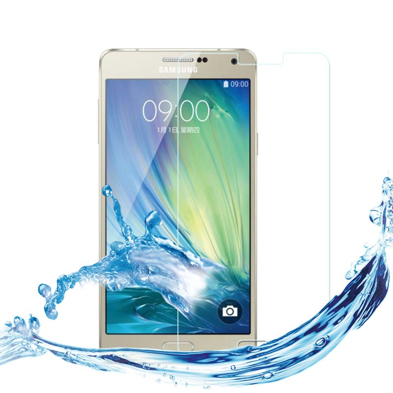 A3 Phone case Tempered glass phone case For samsung galaxy A3 2015 toughened 9H 0.27mm Ultra Thin mobile cover