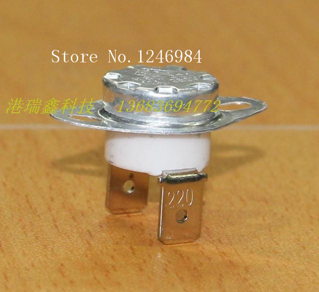 [SA]Electronic components electronic temperature switch temperature protection thermostat 10A250V--50pcs/lot<br><br>Aliexpress