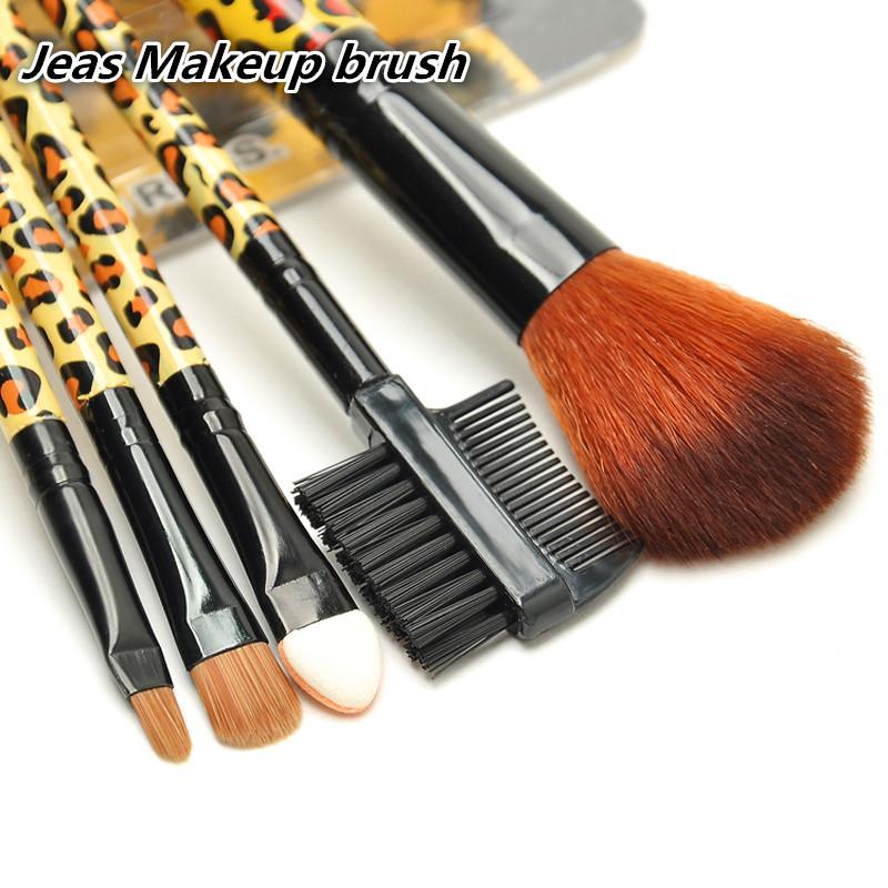 High Quality! 5pcs/set Professional Face Cosmetics Make Up Brushes Set , Makeup Brushes, Face Care, Wholesales, Free shipping(China (Mainland))
