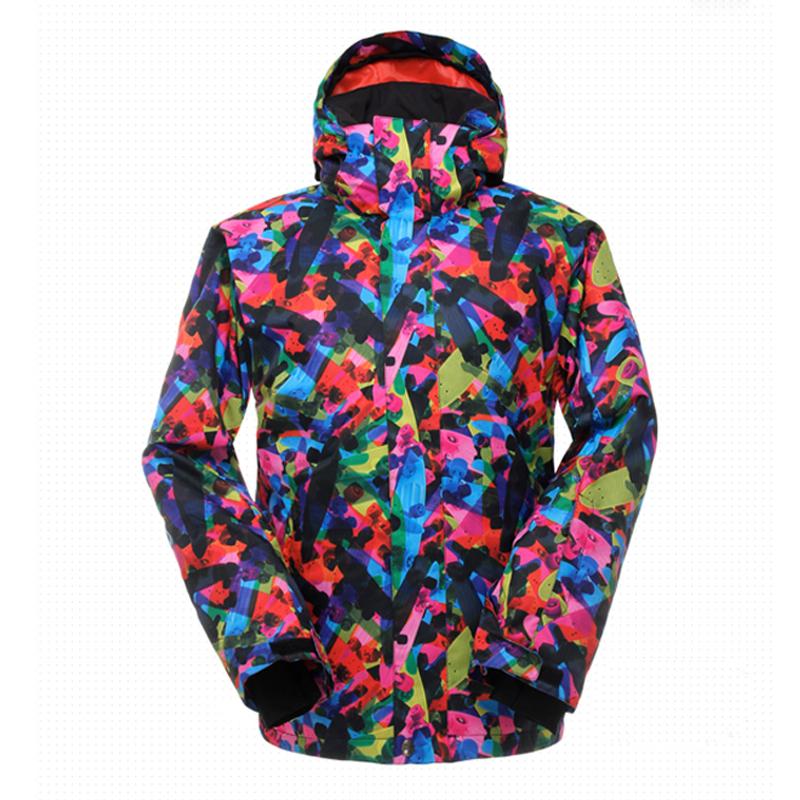 2016Outdoor Men Snowboarding ski coat Windproof Waterproof campera ski impermeable Snowboard Female Snow Wear Ladies Ski Jackets(China (Mainland))