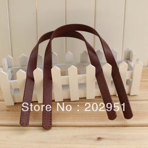 Freeshipping 2pcs/Lot 56cm long New PU Leather Shoulder Bag Handle DIY Purse Strap 3 color available,mixed is OK(China (Mainland))
