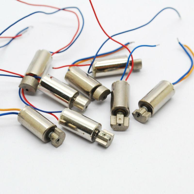 holesale 50pcs 6*12MM coreless motor with vibration Mini vibration motor 3V 180mA -250mA(China (Mainland))