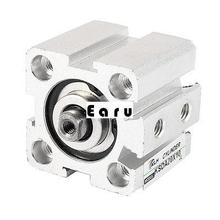 Sda20x10 bore doble acción Thin Air cilindro neumático de repuesto(China (Mainland))