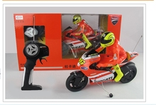 1:10 remote control motorcycle simulation model of plastic children's toys speed mini remote control toy motorcycle(China (Mainland))