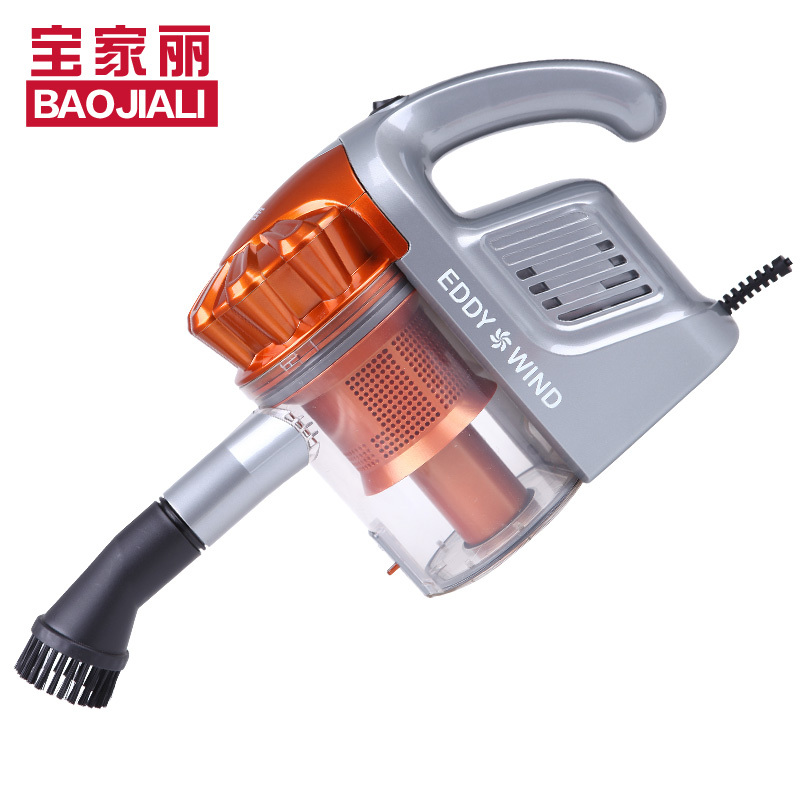 Free shipping Bao Jiali 910 Home Dry type of Non Consumable Handheld Vacuum Cleaner Low noise Aspirator Packet delivery(China (Mainland))