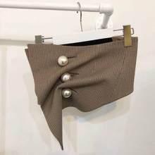 GETSRING женский пояс ретро большая жемчужина плед широкий пояс мода неправильный корсет пояс Универсальные женские пояса для платья Корсеты(China)