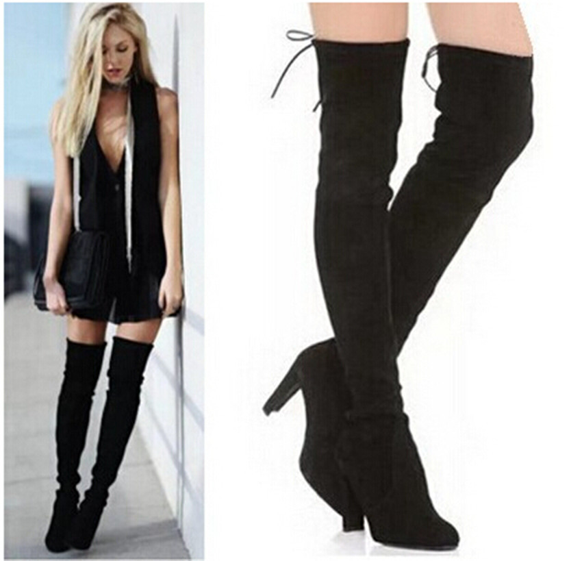 Womens Thigh High Boots