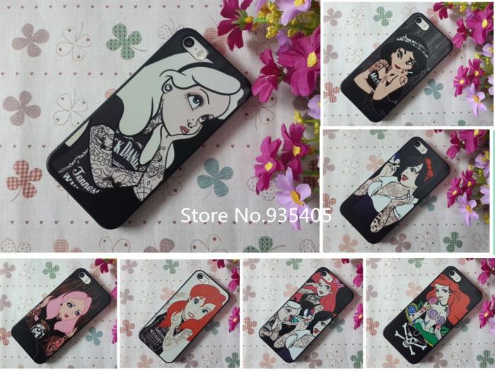 2014 New Arrive phone cases Alice Wonderland Design Phone Case iPhone 5 5S - Electronic-City store