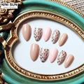 2016 New High Quality Adult Stiletto Nails French Acrylic False Nail Tips Nail Art Fake Nails