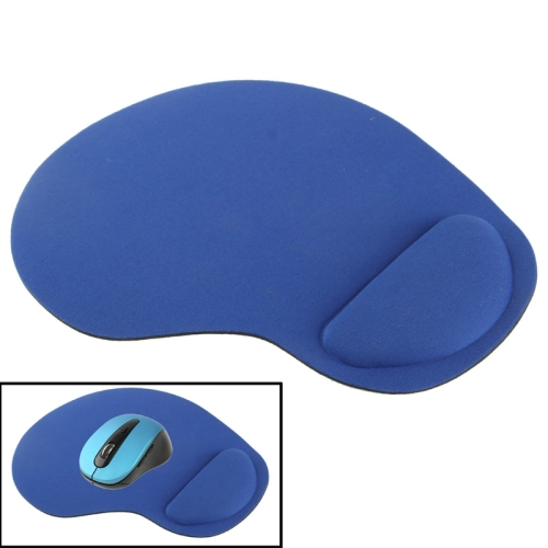 Blue Color Hot Cloth Gel Wrist Rest Mouse Pad(China (Mainland))