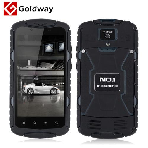 Мобильный телефон No.1 1 X 1 5.0 HD 1280 * 720 MTK6582 1 8 ROM 5.0MP + 13.0mp IP68 SIM 4.4 GPS No.1 x1 gps навигатор lexand sa5 hd
