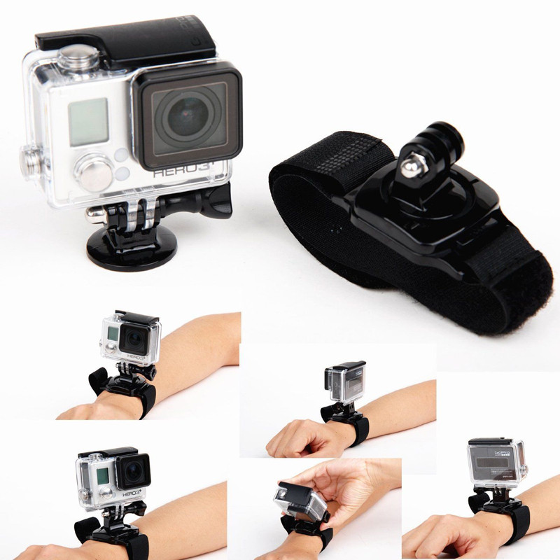 For Xiaomi Xiao yi Accessories Kit Travel Case Bag for GoPro Go pro Hero 4 Session 4 3+ 3 2 SJ4000 SJ5000 SJ6000