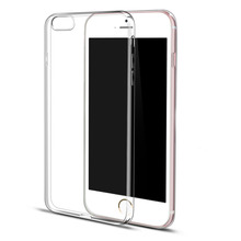 For iPhone 6s Case Silicone Clear TPU Case For iPhone 6 6plus 6s plus 5 SE Case Utral Slim Back Cover Phone Cover Transparente(China (Mainland))