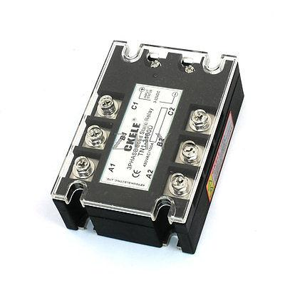 Фотография TN1/3100D 8 Terminals 3Phase SSR Solid State Relay 3-32VDC/480VAC 100A