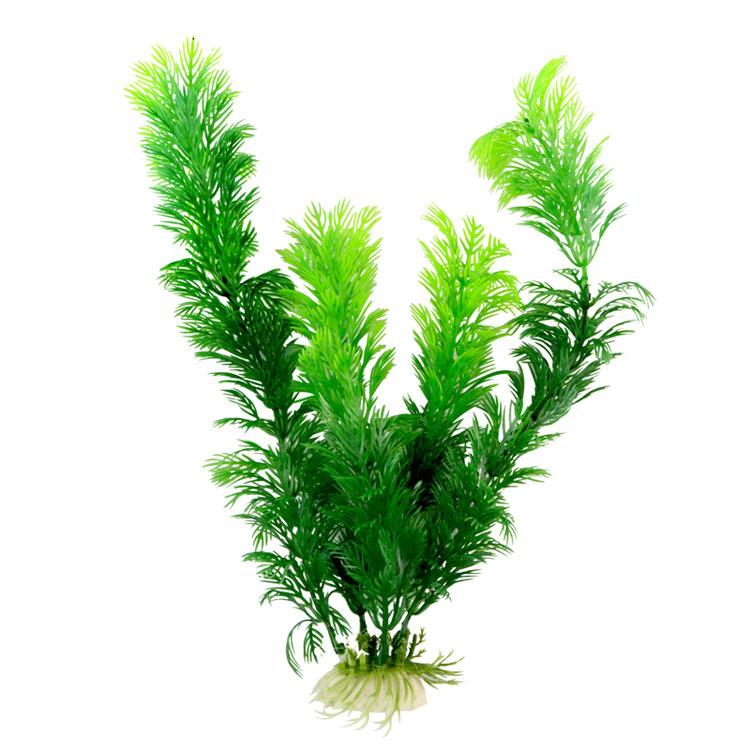 10pcs aquarium plants decoration 30cm artifical green for Aquarium plant decoration