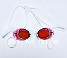 Бесплатная доставка новое мужчины / женщины номера для тумана анти уф плавать очки регулируемая плавательные очки G0320