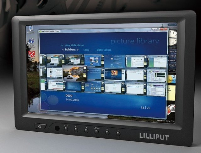 7'' touch screen monitor, HDMI monitor, resistive touch panel