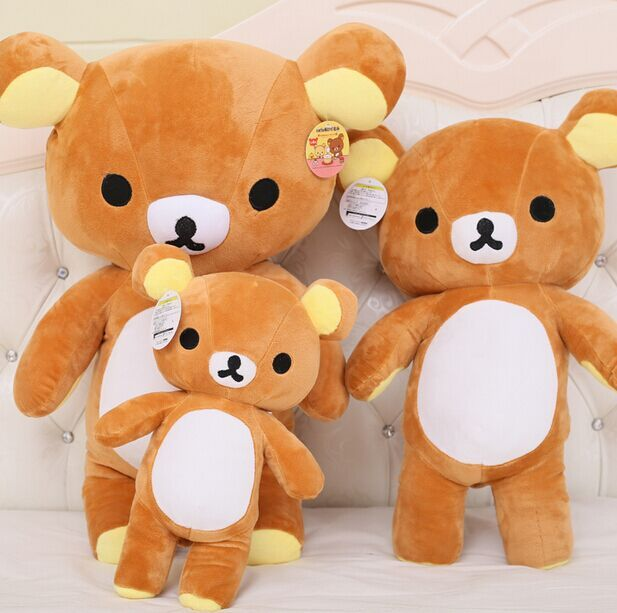 35 см Janpanese каваи rilakkuma плюшевые, Милые японские чучела животных кукла, Rilakkuma подушка, Японский мишки тедди плюшевые игрушки кукла