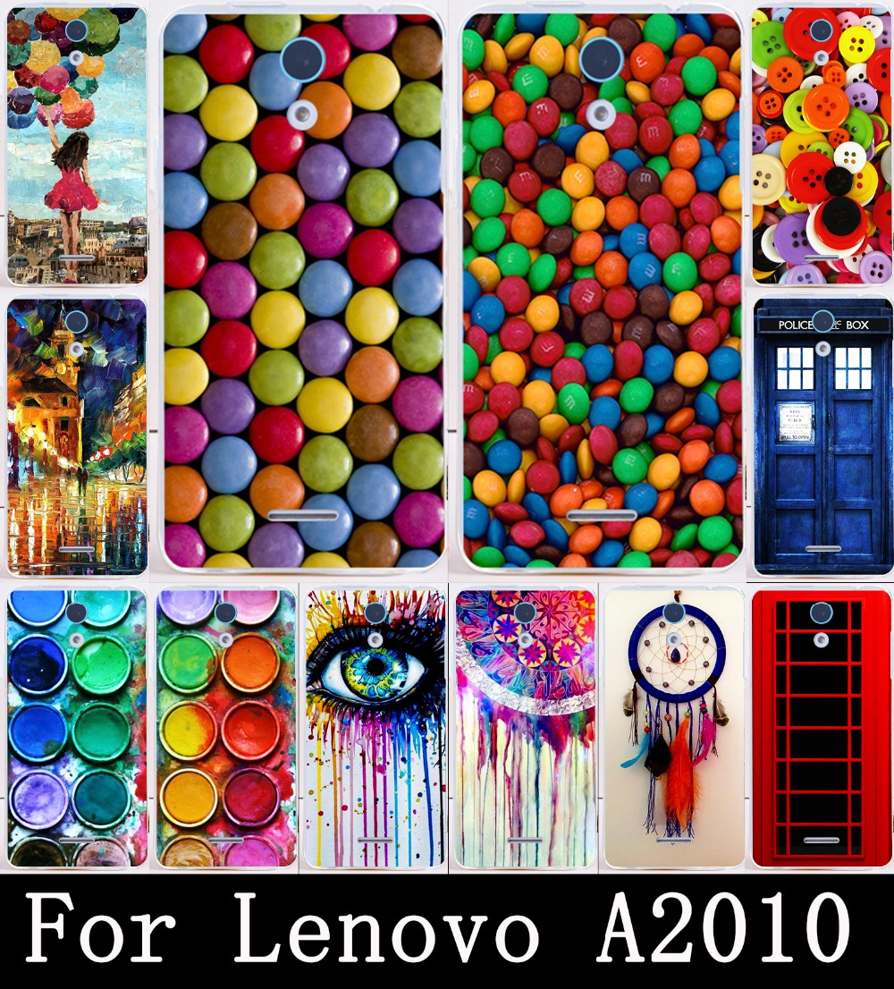 Print Paintbox Chocolate Candies for Lenovo A2010 Case Cover Painted Hard Plastic Shell Skin For Lenovo A2010 Phone Cases(China (Mainland))