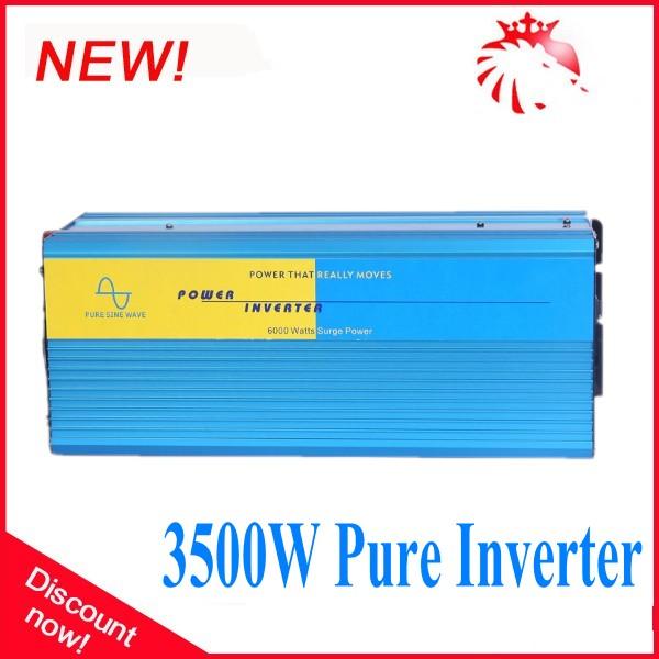 3.5KW High Efficiency Pure Sine Wave Solar Off Grid Inverter 12V/24V to 110V/220V 3500W<br><br>Aliexpress