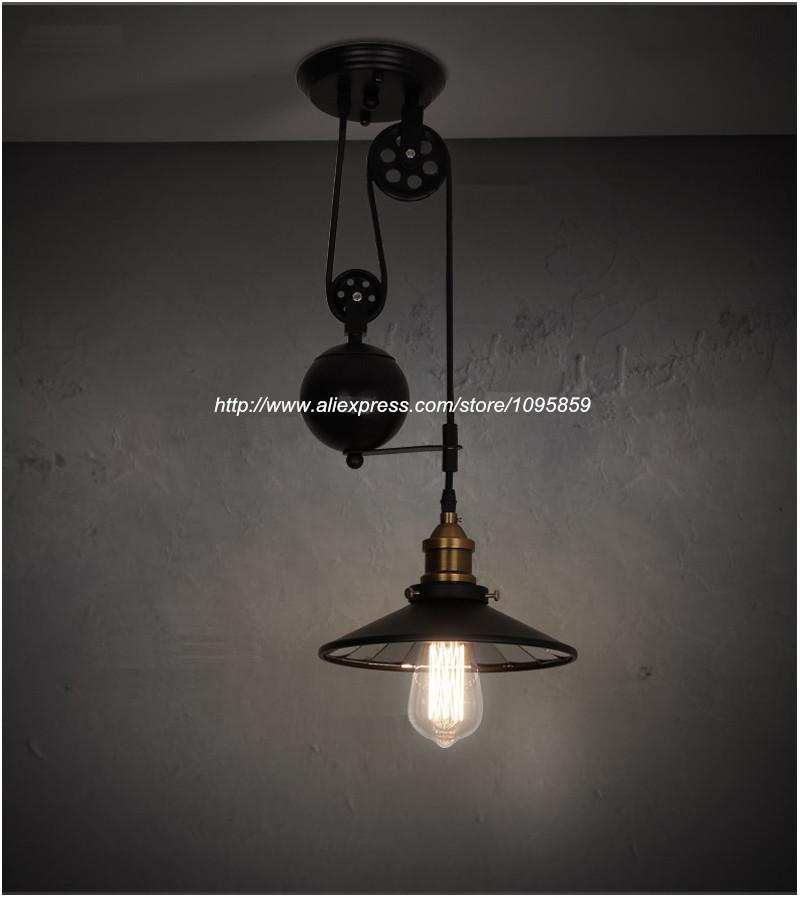 com buy kitchen vintage pulley light fixture pendant light buy lighting fixtures