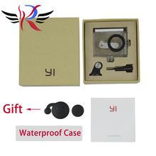 IN STOCK! NEW Original Waterproof Case for Xiaomi Yi Action Camera 40M Diving Sports Waterproof Box For Xiaoyi Camera(Hong Kong)