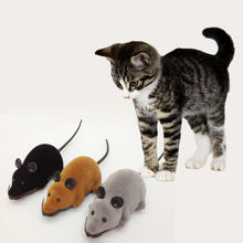 1pcs Cute RC Wireless Remote Control Rat Mouse Cat Toy Mini Rats Toy For Cat Dog Pet(China (Mainland))