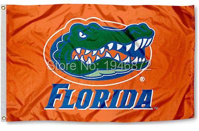 Florida Gators Flag UF Banner Fan Flag 3X5FT Custom Any Advertising Flag(China (Mainland))